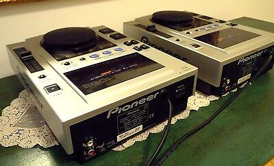 2 CD CDJ PIONEER 100S DJ PROFESSIONALI  STEREO effetti digital Jog Wheel  Break