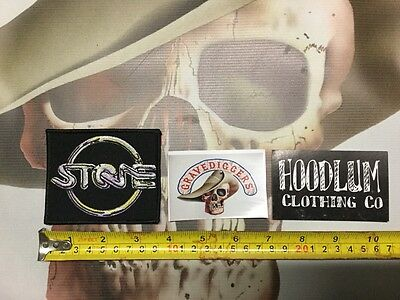 Biker  PATCH Sandy Harbutt licensed product stone movie Harley Davidson