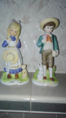 Boy and Girl hollow pottery ornaments