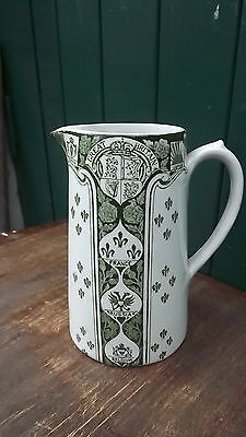 """Vintage """"A Memento of the Great War 1914 - 1915"""" Tall Pitcher Jug  Liberty Style"""