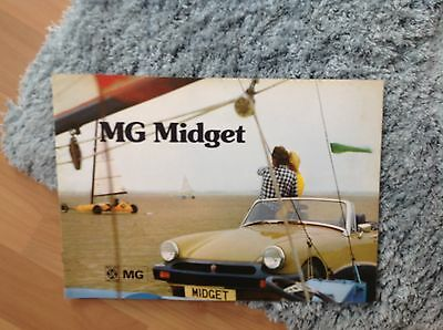 MG MIDGET BROCHURE 1974      Publication 3088