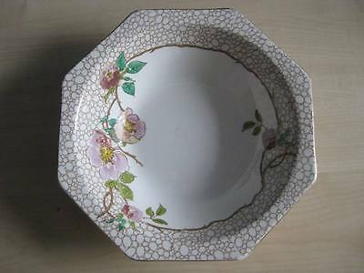 Royal Staffordshire Hexagonal Bowl - A J Wilkinson - Vintage, Circa 1910