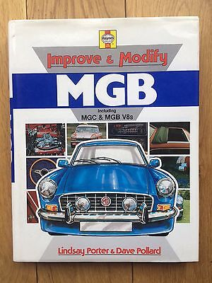 Mgb,mgb Gt,mgc,mgb V8,mg Improve & Modify Haynes Manual 1962-1980