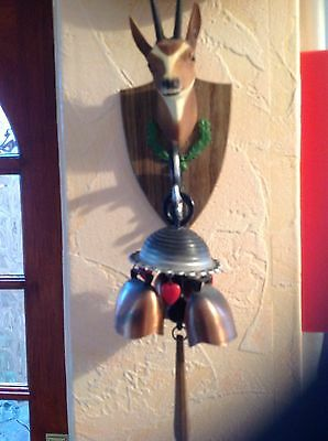 Wall Hanging Stag Head Gong