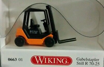 Wiking, Forklift/Towmotor. 1/87 HO Scale (No Border Fee's)