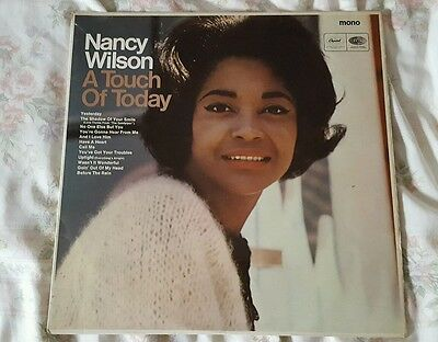 NANCY WILSON - LP - A TOUCH OF TODAY - CAPITOL RECORDS UK T 2495 northern soul