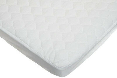 Mattress Pad Waterproof Fitted Quilted Cradle Bed Infant Baby Crib Born New