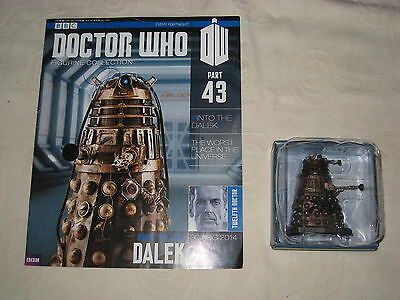 Doctor Who Figurine Collection - Part 43 - Rusty,the Good Dalek - Eaglemoss-2014