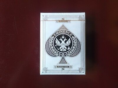 Eminence Platinum Rare Limited Edition Custom Playing Cards Collectors Deck $
