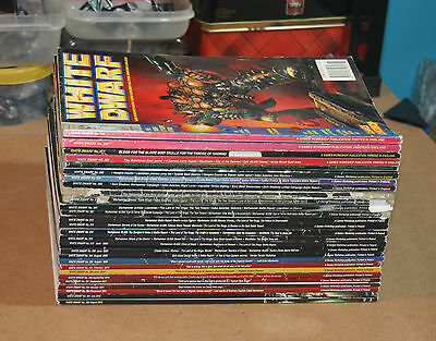White Dwarf x28 issues bundle job lot assorted from 191 to 392 no duplicates