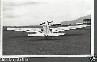 DHC Chipmunk T10 - WD328  Singapore 1950s? Unposted Postcard