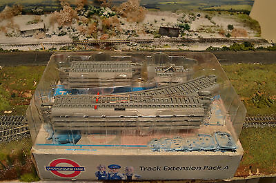 Underground Ernie Track Extension Pack A, Oo Gauge,by Bachmann, Fair Condition