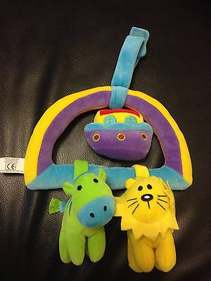 Mamas and Papas hanging baby Noah's Ark toy