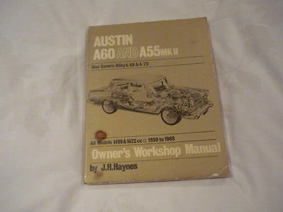 Owners Workshop Manual A60 And A55