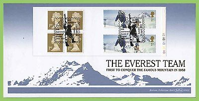 G.B. 2003 Extreme Endeavours booklet pane on Benham First Day Cover