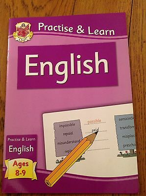 CGP Practise And Learn English Age 8-9