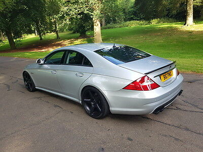 Mercedes CLS 55 AMG Black Edition Tuning 582bhp MODIFIED P/X OR SWAP