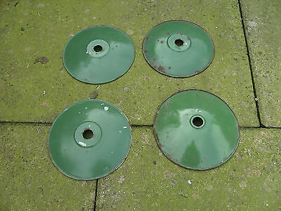 Vintage retro Industrial ceramic light shades  (french)
