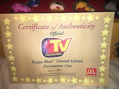 Happy Meal Limited Edition Presentation Case 2001