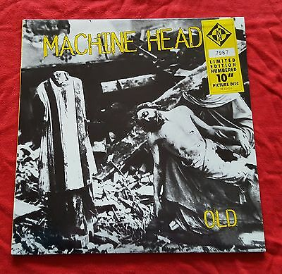 Machine Head - Old - 1995 Picture Disc 10'' Limited Edition Numbered Roadrunner