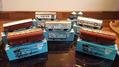 Vintage Marklin HO Scale Job Lot Of Wagons (Blue Boxes ) Very Good in Box