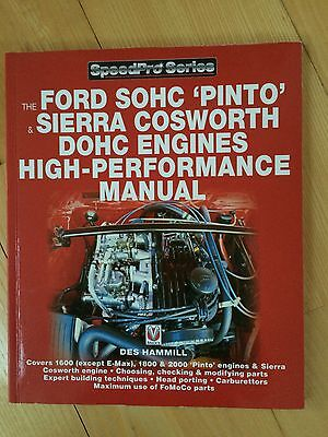 Ford SOHC Pinto RS2000 Sierra Cosworth Engine Tuning Manual Des Hammill