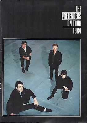 The Pretenders 1984 World Tour Programme. Learning to Crawl