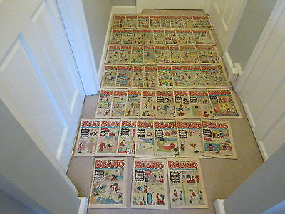 BEANO COMICS X 50 FROM 1974, COMPLETE YEAR,-2 All in  good condition/Dandy
