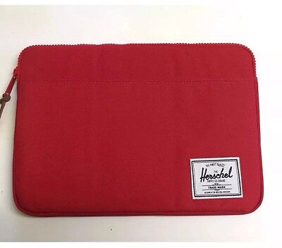 """HERSCHEL Anchor 15"""" sleeve for MacBook Pro  Red Colour"""