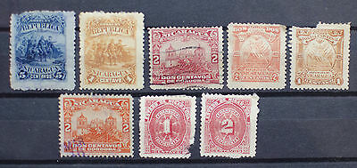 Nicaragua Early Lot of Stamps