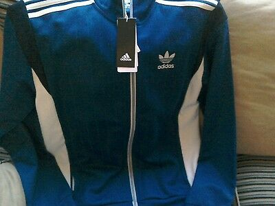 Adidas tracksuit top mens small