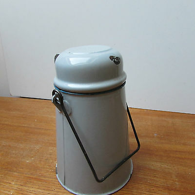 Vintage/Collectable Enamel Vintage Coffee Pot With Cup..Nice..