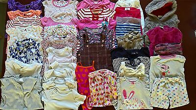 Massive Bundle Of Baby Girl Clothes - Aged 12 - 18 Months - Bundle 2 - 39 Items!