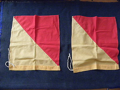UK Scouting 1940's Signalling Flags