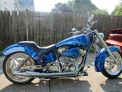 "2003 Custom Built Motorcycles Pro Street  2003 RON SIMMS ""JIMI"" 131 THUG MOTOR ZIPPERS HORST PAINT HARLEY DAVIDSON"