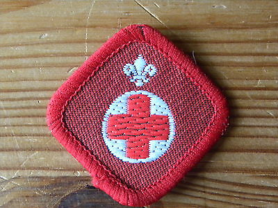UK Scouting 1980's Scout Activity/Proficiency Badge - Ambulance