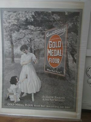 ~Gold Medal Flour Advertising Print Vintage~Country CoTtage Decor~CuTe~