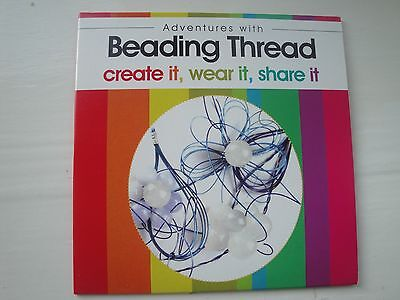 DVD: Jewellery Maker - Adventures with Beading Thread (new) RRP £4.95