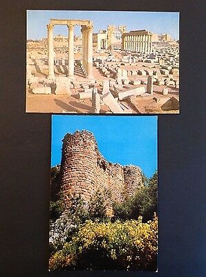 Colour Postcards - Syria