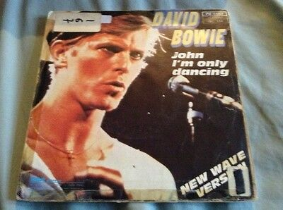 "David Bowie John Im Only Dancing (Again) Rare French RCA Single 1979 7"" P/S"
