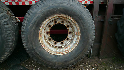Agricultural Trailer Flotation Wheel & Tyres 16.0/70-20 (4 Available)