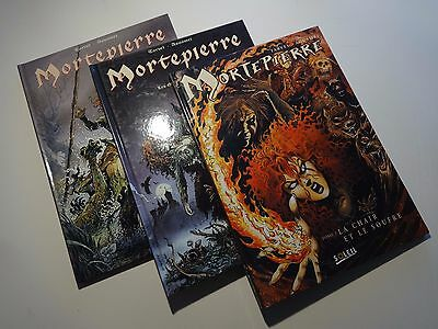 BD Lot  Mortepierre - EO -  N°1 à 3  - TBE - Aquamri