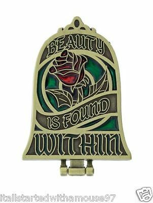 Beauty is Found Within Beauty and the Beast Enchanted Rose Disney Pin