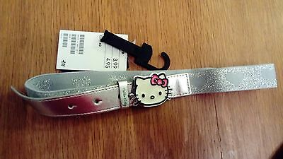 "BNWT Hello Kitty design elasticated belt, size 60cm/24"" waist"