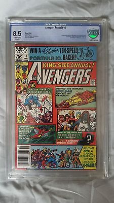 Avengers Annual #10 1st App Rogue CBCS Graded VF+ (8.5)