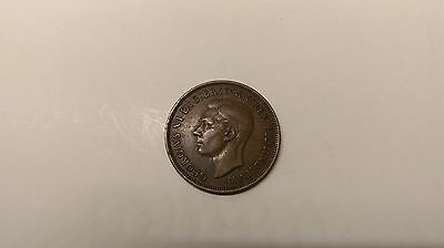 One Penny Coin 1939 George VI