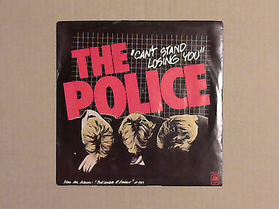 "The Police - Can't Stand Losing You (7"" Single) (U.S Release)"