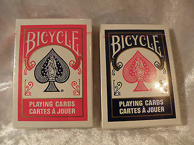 Bicycle Poker 808 Playing Cards 2 Decks Blue And Red Unopened Sealed Decks