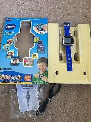 Kidizoom Smartwatch 8 In 1 Blue - Boxed And complete
