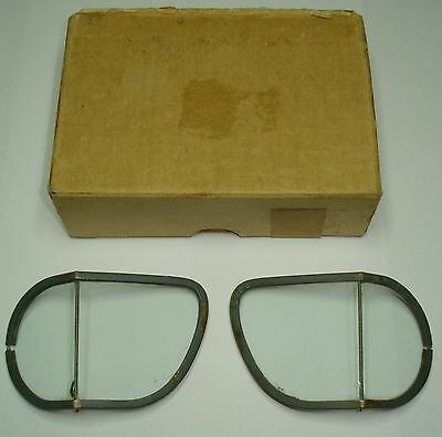 WW2 RAF Mk VIII Flying Goggles Replacement Lenses & Box of Issue. Mk 8 ORIGINAL